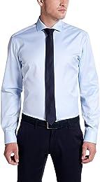 Chemise à Manches Longues Slim FIT Twill uni