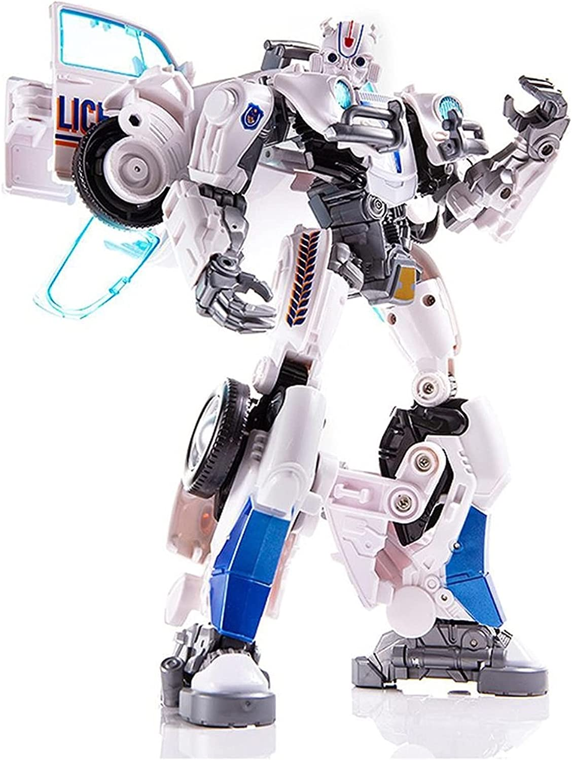 LQIPPOE Manual Deformation Toy White Bumblebee Ranking TOP3 Albuquerque Mall car G Robot