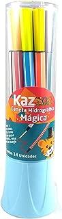 Caneta Hidrografica 12 Cores Degrade ZOO Embalagem Rosa KZ7050 - KAZ