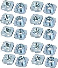 Sechskantmuttern M6 St/ückzahl 10 DIN 6331 Stahl schwarz hohe Form mit Bund Festigkeit 10 Schraubenmutter hohe Mutter Gewindemuffen Langmuttern Gewindemuttern