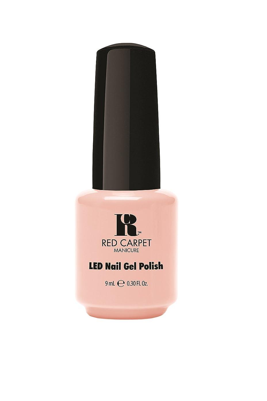 短命親密なモーターRed Carpet Manicure - LED Nail Gel Polish - Timeless Beauty - 0.3oz/9ml