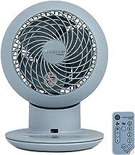 Iris Ohyama, Ventilateur de Table Silencieux et Puissant avec télécommande, Minuteur, Oscillation multidirectionnelle, 30...