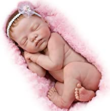 The Ashton - Drake Galleries Bundle of Love Lifelike Newborn Baby Doll by Marita Winters 12-Inch Entirely Sculpted