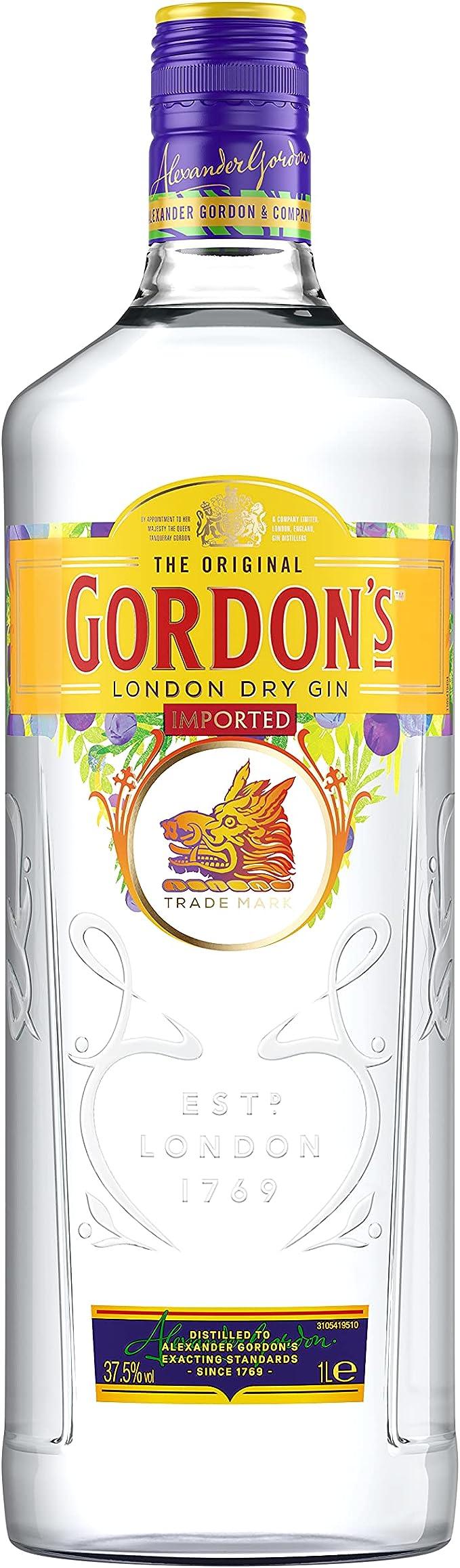 141 opinioni per Gordon's London Dry Gin- 1 L