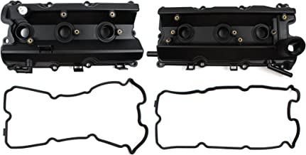 Left & Right Engine Valve Cover with Gasket For Nissan 350Z Infiniti FX35 G35 M35 3.5L DOHC