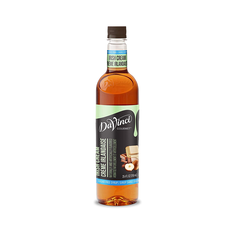 DaVinci Gourmet Sugar-Free Irish Cream Syrup, 25.4 Ounce