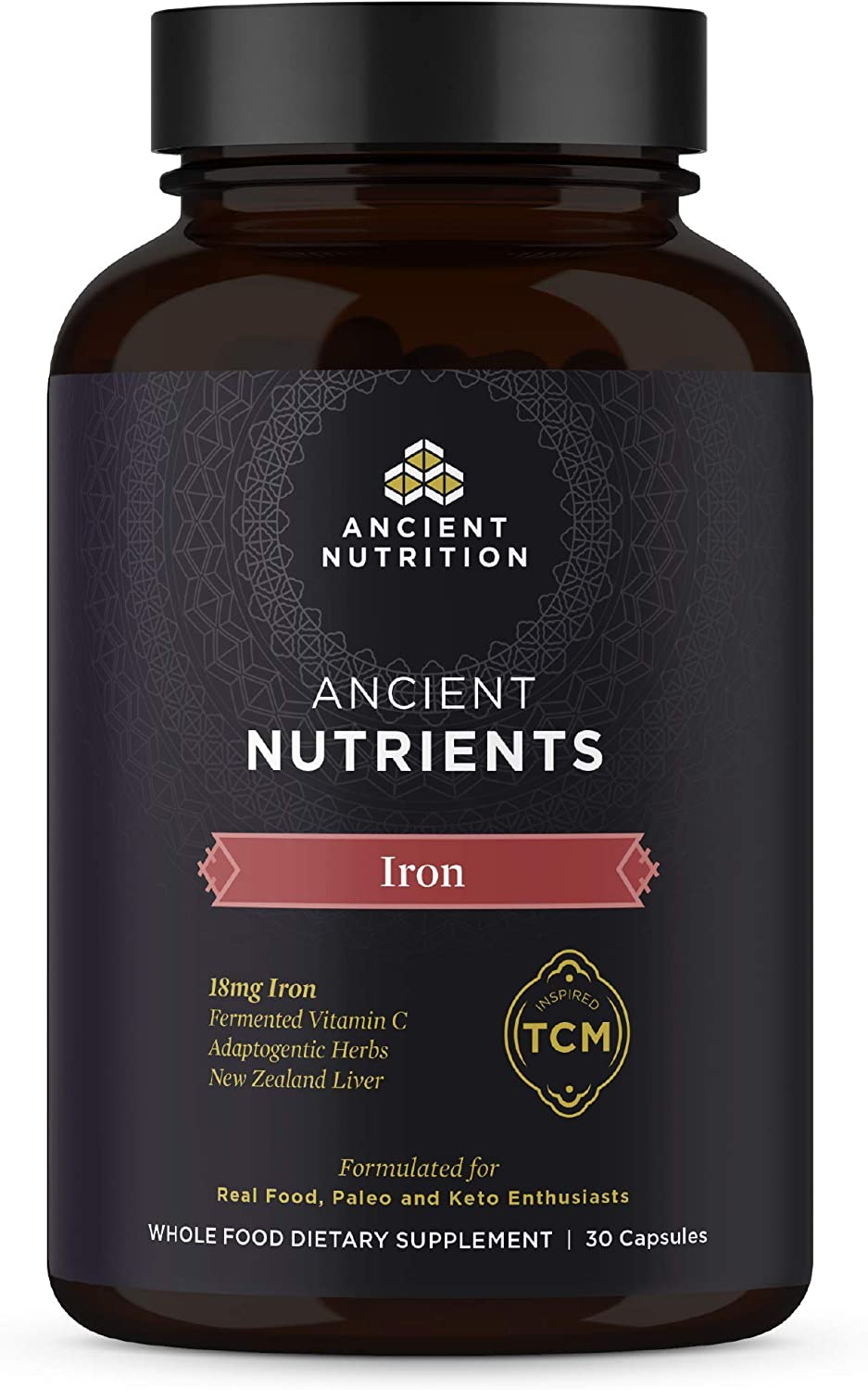 Iron Supplement Ranking TOP6 by Ancient Nutrition 18mg Seattle Mall Supports per Serving