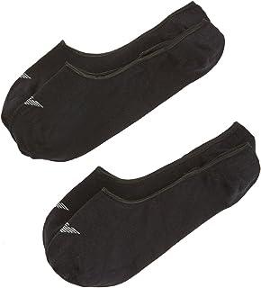 Emporio Armani, Juego de 2 pares de calcetines elásticos de algodón, color beige