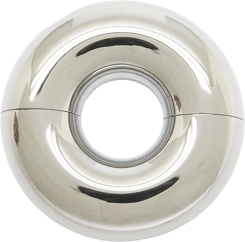 10 heavy steel rings 1.5 inch diameter shiney pristine