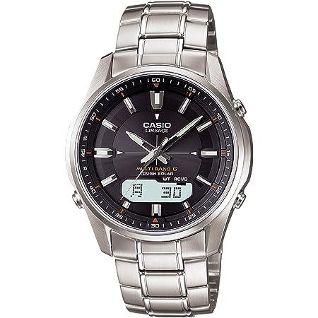 [カシオ] 腕時計 リニエージ 電波ソーラー LCW-M100D-1AJF メンズ シルバー