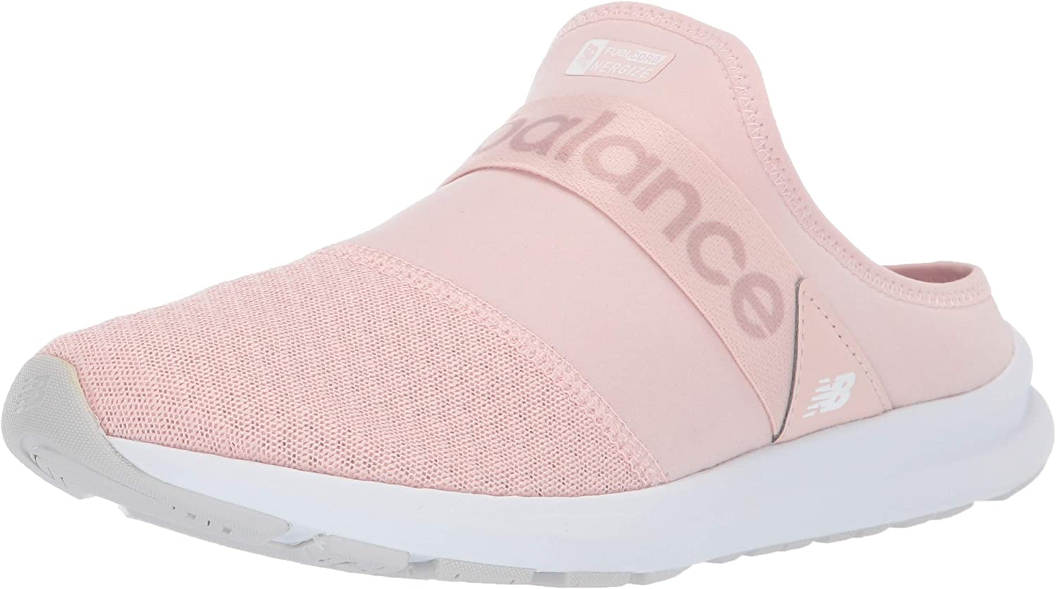 New Balance Women's Nergize V1 FuelCore Sneaker, Oyster Pink Mist, 12 B US