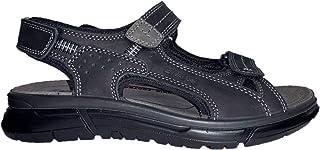 ENVAL SOFT 5243000 Sandali scarpe trekking uomo pelle nero