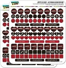 A Nightmare on Elm Street Logo Planner Calendar Scrapbooking Crafting Opaque Sticker Set
