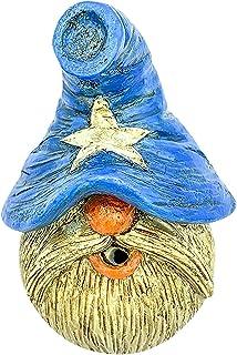 TriLance Dwarf rökelsehållare, brännare fint utförande Gnome Censer Stick Holder, Dwarf Censer Stick Fäste för hem vardags...