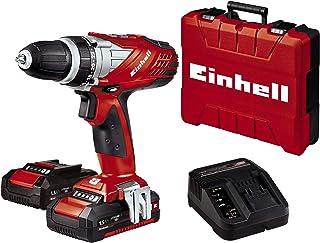 Einhell Cordless Screwdriver TE-CD 18 Li Set Power X-Change (Li-Ion, 18 V, 2 Speed, 48 Nm, LED light, Case, Including 2 x ...