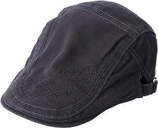 KESYOO Chapéu de Algodão Masculino Boina de Algodão com Encaixe Plano Chapéu de Beisebol Chapéu de Caça Headwear Boné de C...