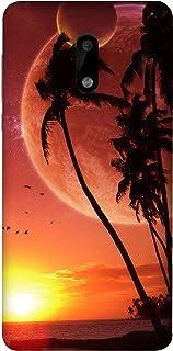 غطاء هاتف لنوكيا 6  من كولركينج CK1No001Abs0009، متعدد الالوان