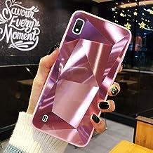 URFEDA Compatibel met Samsung Galaxy M10/A10 Telefoongeval Diamond Glitter Case met Spiegeleffect Sparkly Bling TPU Silico...