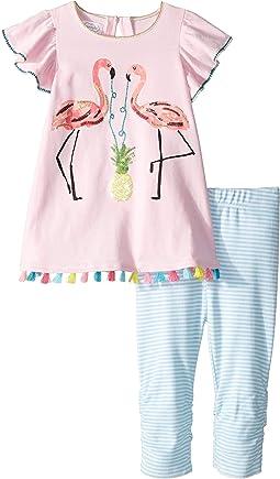 Flamingo Tunic and Capris (Toddler)