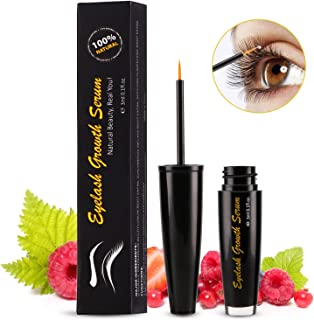 3c51e4563dc Eyelash Enhancer for Longer Fuller Thicker Looking Lashes & Brows, 100%  Natural Extract Booster