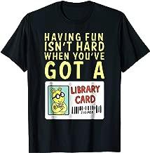 arthur library card shirt