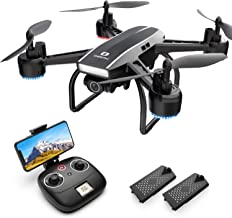 DEERC D50 Drone for Adults with 2K UHD Camera FPV Live Video 120° FOV 4MP, Waypoints, Altitude Hold, Headless Mode, Gestur...