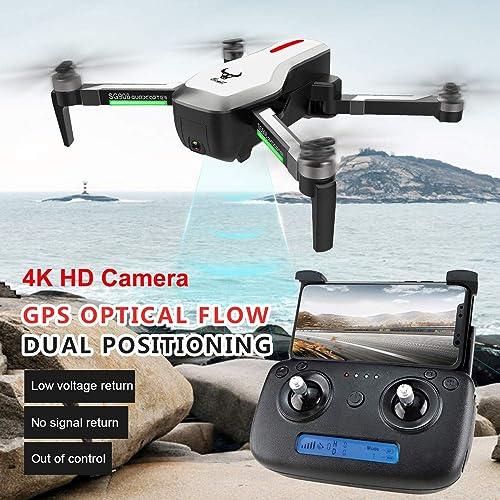 SG906 GPS 5G WiFi FPV avec la caméra 4K Ultra Claire GPS Pliable sans Selfie Selfie   Flux Optique positionnant Le Drone RC Drone Quadcopter + Sac de Caisse