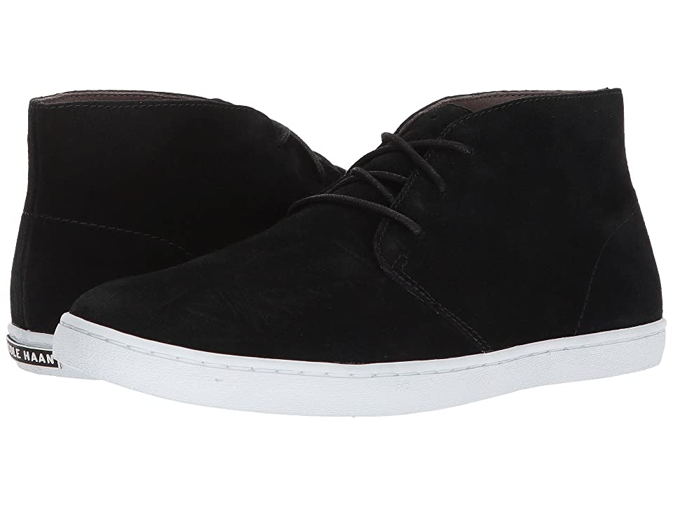 Cole Haan Pinch Weekender Chukka (Black Suede) Men