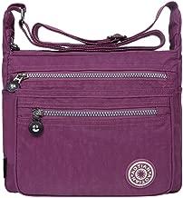 EGOGO Casual Handbag Messenger Cross body Bag Shoulder Bag with Zipper Pockets E303-5