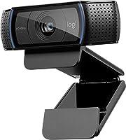 Logitech Hd Pro Webcam C920 Połączenia Wideo W Najwyższej Jakości, Z Rozdzielczością Full Hd 1080P I Osłoną Migawki,...