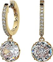 Kate Spade New York - That Sparkle Pave Huggies Earrings