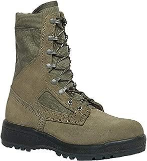 Tactical Bundle: Belleville Men's Hot Weather Compsite Toe Boot Sage 9 R & Cap