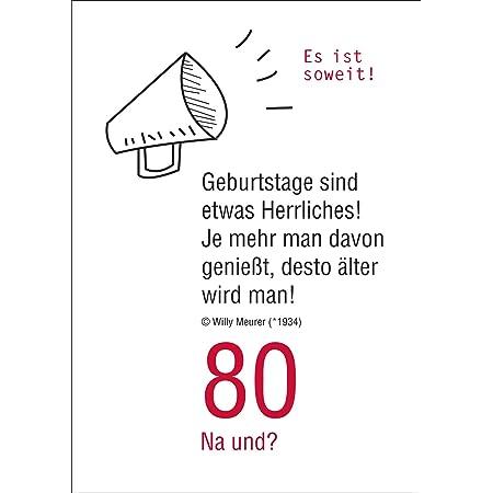 Lustige Sprueche Zum 80 Geburtstag