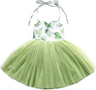 f11d540ca Flofallzique Special Occasion Girls Dress Pink Tutu Wedding Christening Birthday  Baby Toddler Clothes