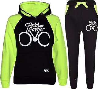 c8793411f4433 A2Z 4 Kids® Enfants Garçons Filles Survêtement Designer Pedal Power  Imprimer Sweat À Capuche &
