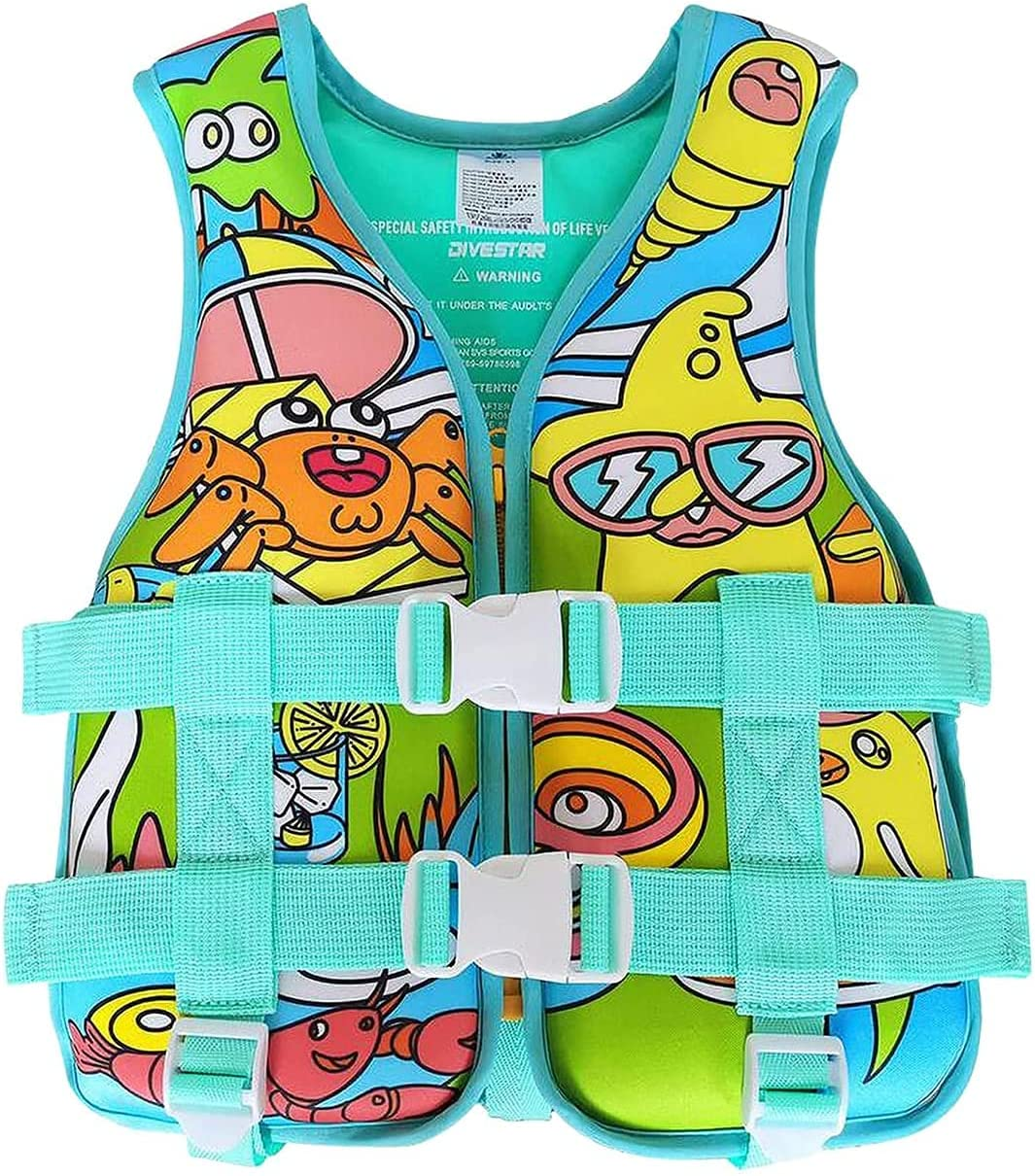 DLRBDMM Kids Life Jacket Youth Sales Safety Swimming Swimsuit Cheap bargain Swimwear