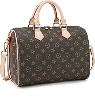 Women Top Checkered Monogram Nerverful Speedy Damier Handle Satchel Handbags Shoulder Bag Tote Purse Messenger Bags