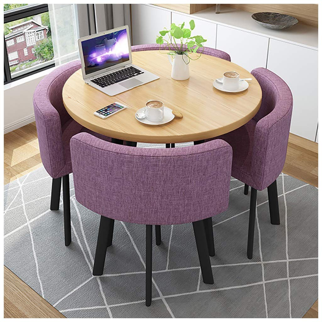 Home Living Room Table and Chair Set Modern Kitchen Office 10cm