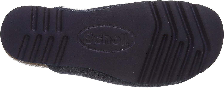 Scholl/ SANAKE blue pantoufle femme