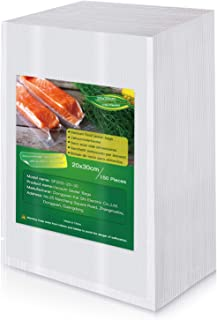 BoxLegend Sac Sous Vide Alimentaire, 150 Sacs 20 x 30cm pour la Conservation des Aliments et la Cuisson Sous Vide, BPA et ...