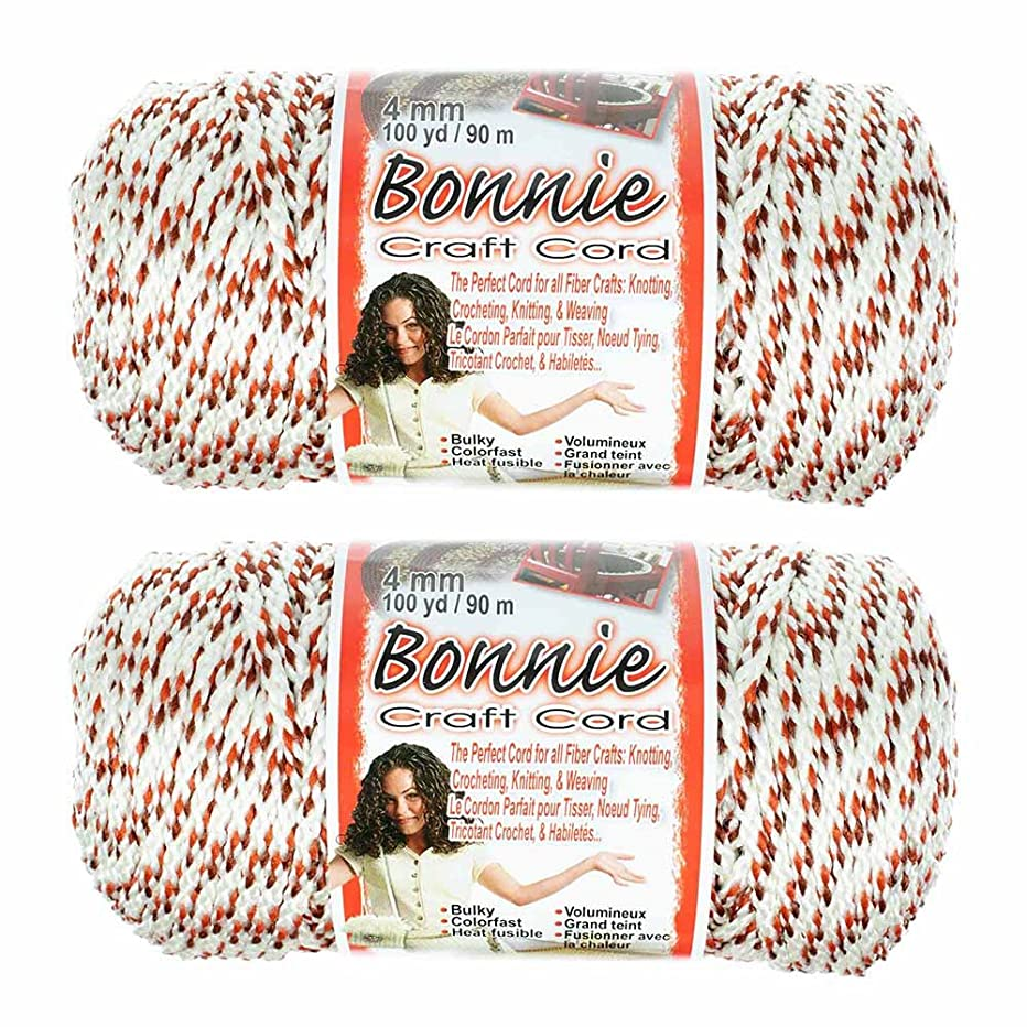2 Pack Bonnie Macramé Cord – 4mm – 100 yd Lengths (Indian Cord)
