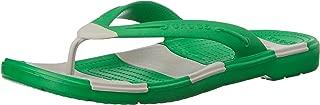 Crocs Beach Line Flip Grass Green/Pearl White Size EU 39-40 - US M7/W9