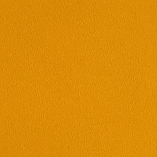 Fabric Merchants Double Brushed Solid Jersey Knit Fabric, Mustard, Fabric by the yard