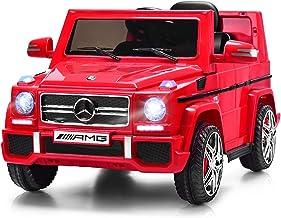Costzon Kids Ride On Car, Licensed Mercedes Benz G65, 12V Battery Powered Electric Vehicle, Parental Remote Control & Manu...