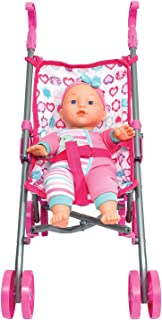Family Games Dream Collection Baby Doll W/ Stroller