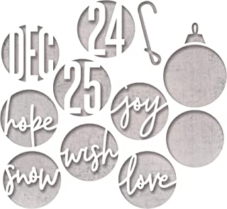 Sizzix 664205 Circle Words, Christmas by Tim Holtz Dies