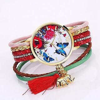 Wristband Women's Wrist Watches Ladies Series Girls Watch Female for Women Female Bracelet Watch Small Twist Butterfly Exq...
