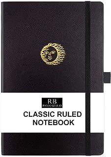 leather notebook pen holder