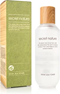 Facial Gel Toner - Natural Korean Jeju Island Complex   Cleanse Your Face   Restore Texture and Replenish Your Skin   Provides the Skin with Moisture   Hydrating and Calming Treatment with Aloe Vera