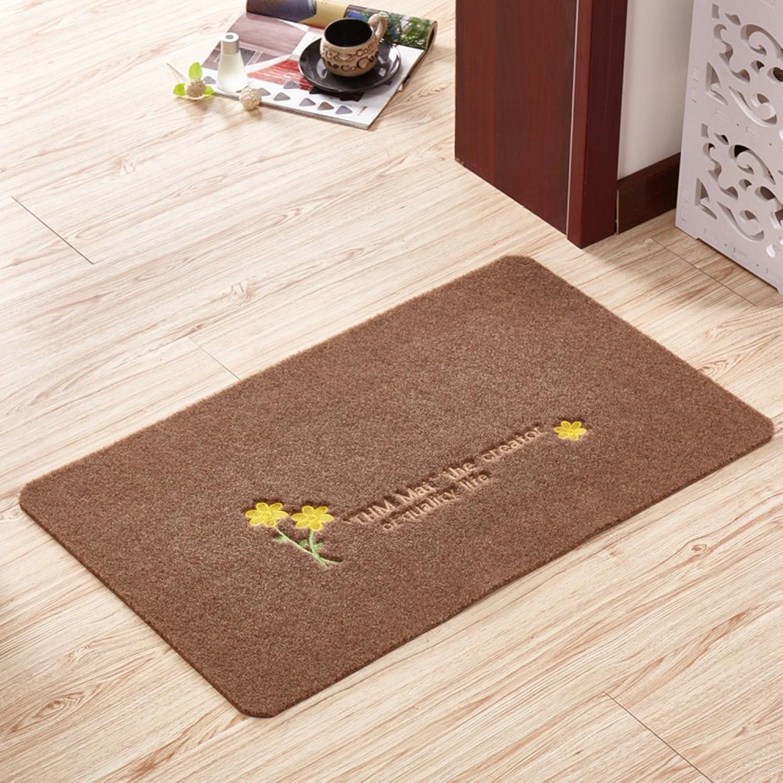 Floor Mat Doormat Door,Entrance,The Door,Kitchen,Bedroom Mats Outdoor,The Door,Non-Slipping Mats-E 120x140cm(47x55inch)